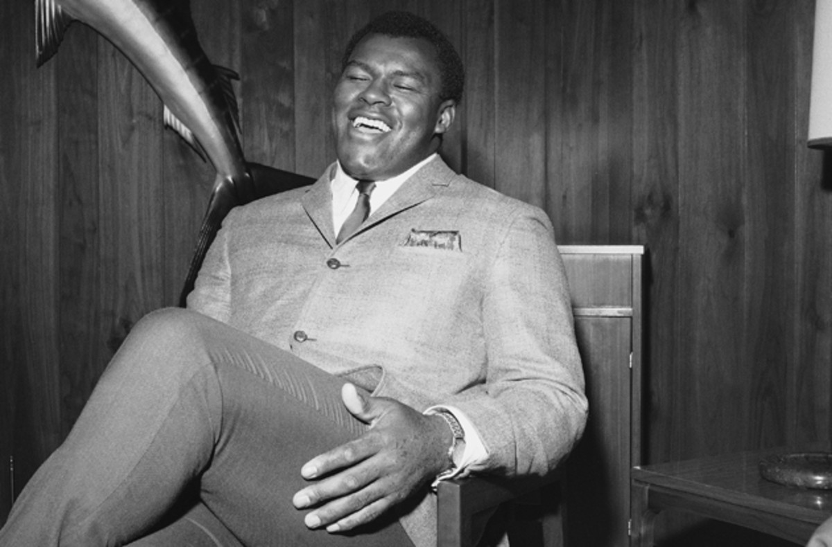 Cookie Gilchrist in 1966. (AP Photo)
