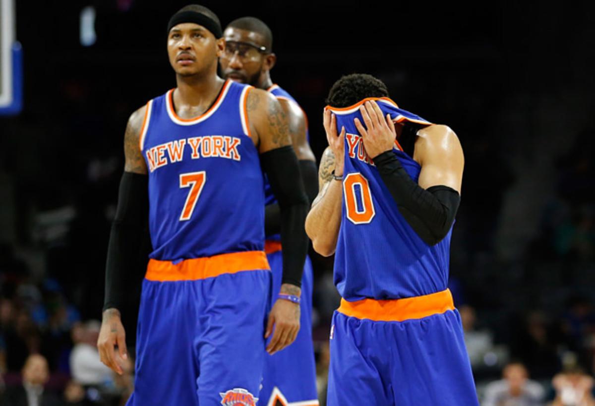 Knicks midseason