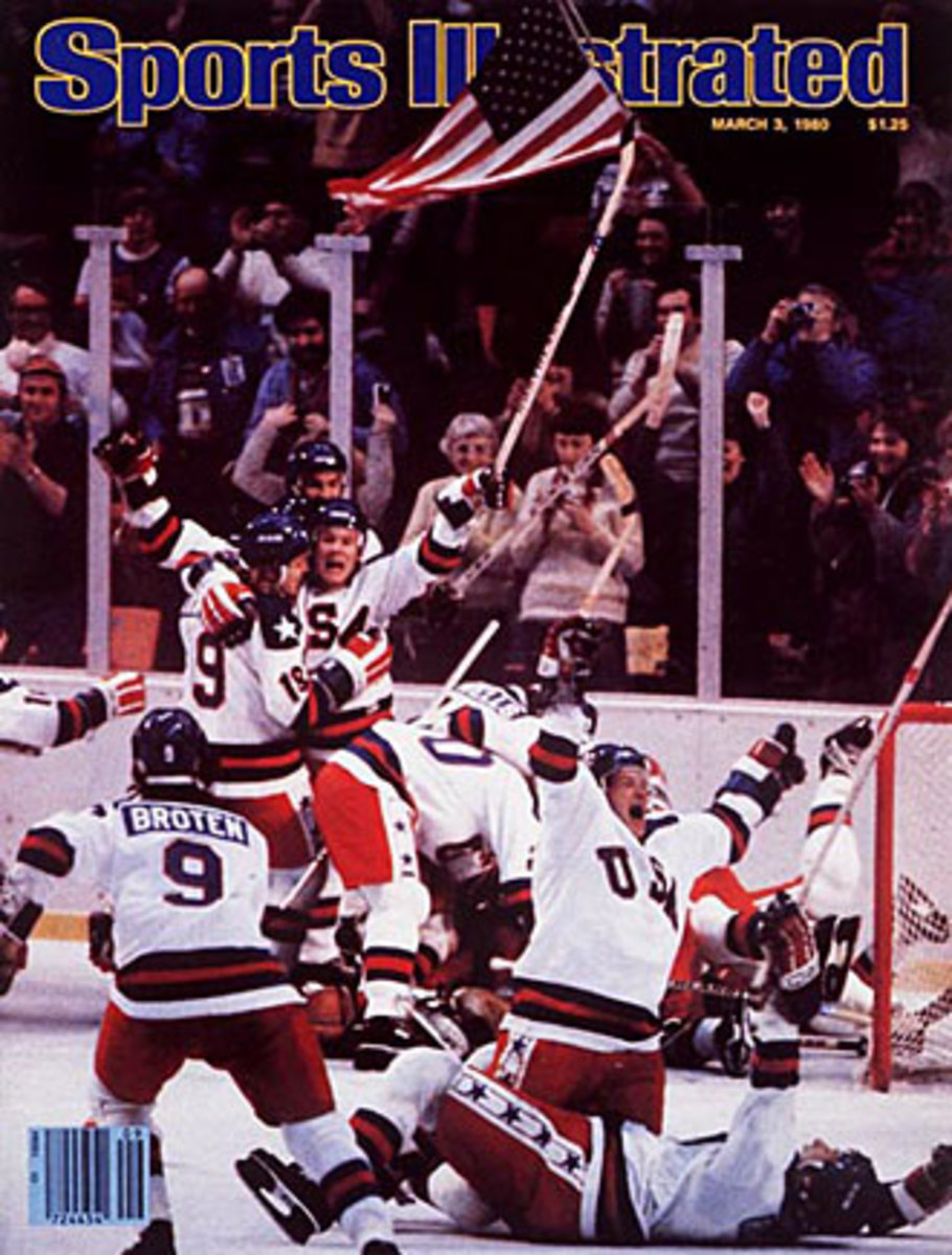 1980 Miracle On Ice cover