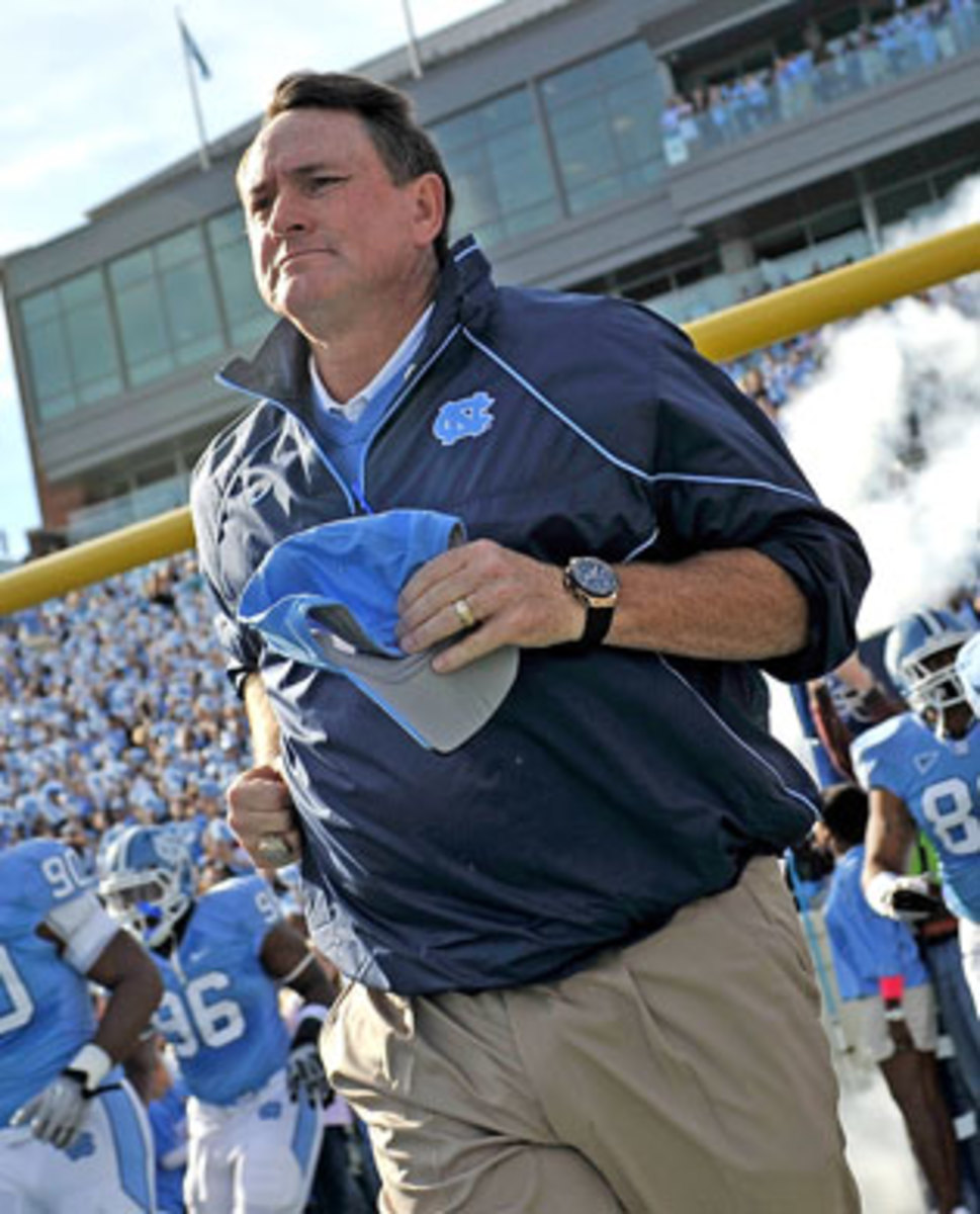 Butch Davis unc lost way inline 4
