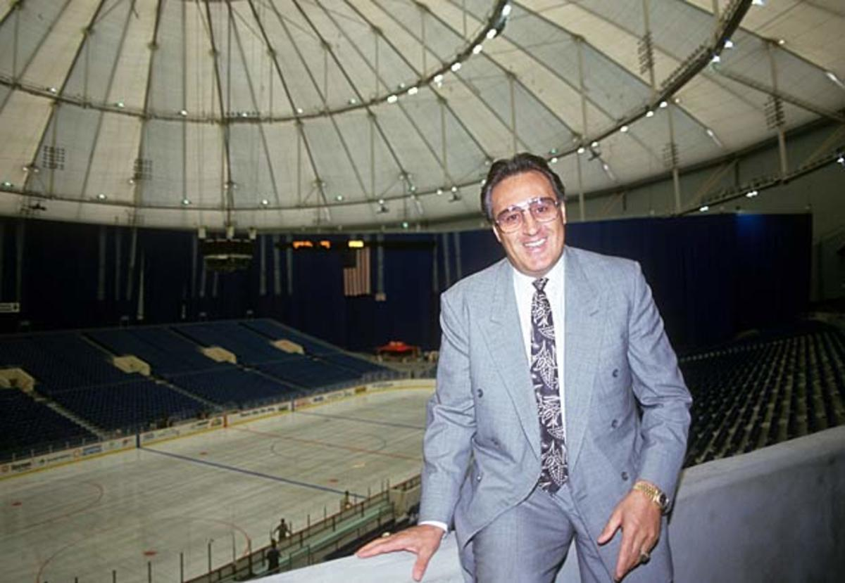 """Expo Hall came to be know as """"Espo Hall"""" after Phil Esposito, the architect of the Lightning."""