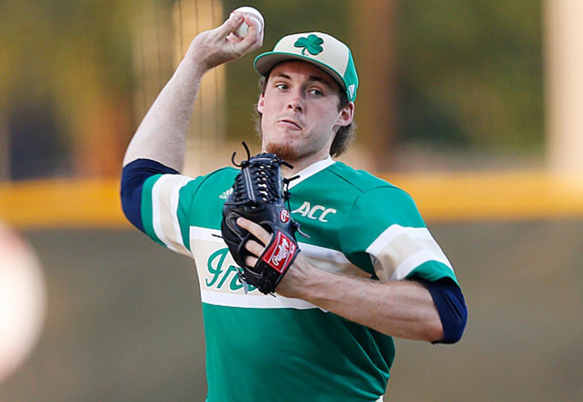 Pat Connaughton Notre Dame baseball