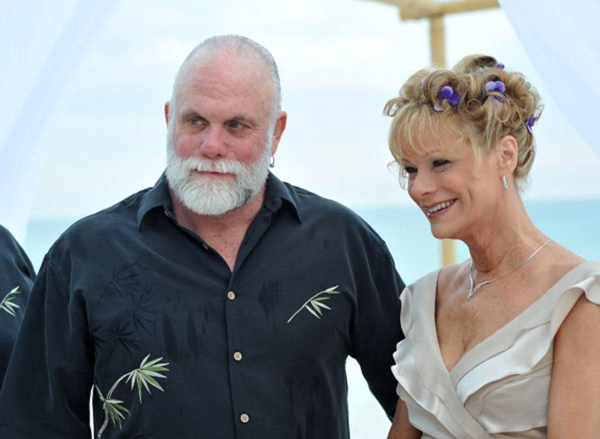 Randy Savage and Lynn Payne