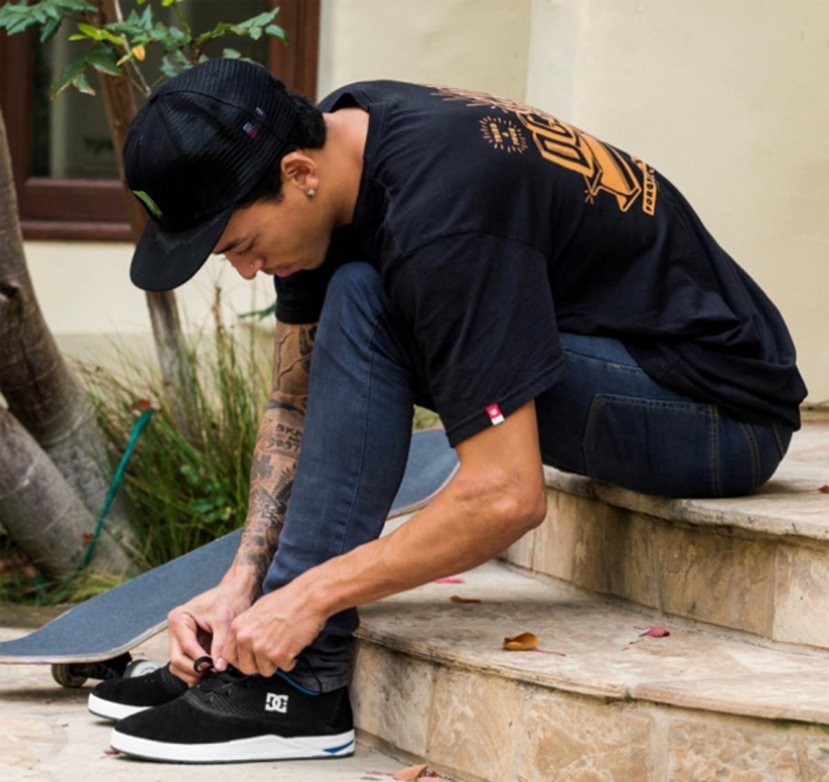 Nyjah Huston, DC Shoes unveil their