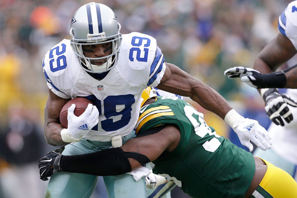 The Cowboys' decision on Murray could affect where Adrian Peterson ends up. (Tom Lynn for Sports Illustrated/The MMQB)