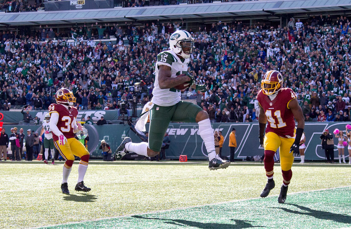 Marshall is averaging a career-high 102.2 receiving yards per game.