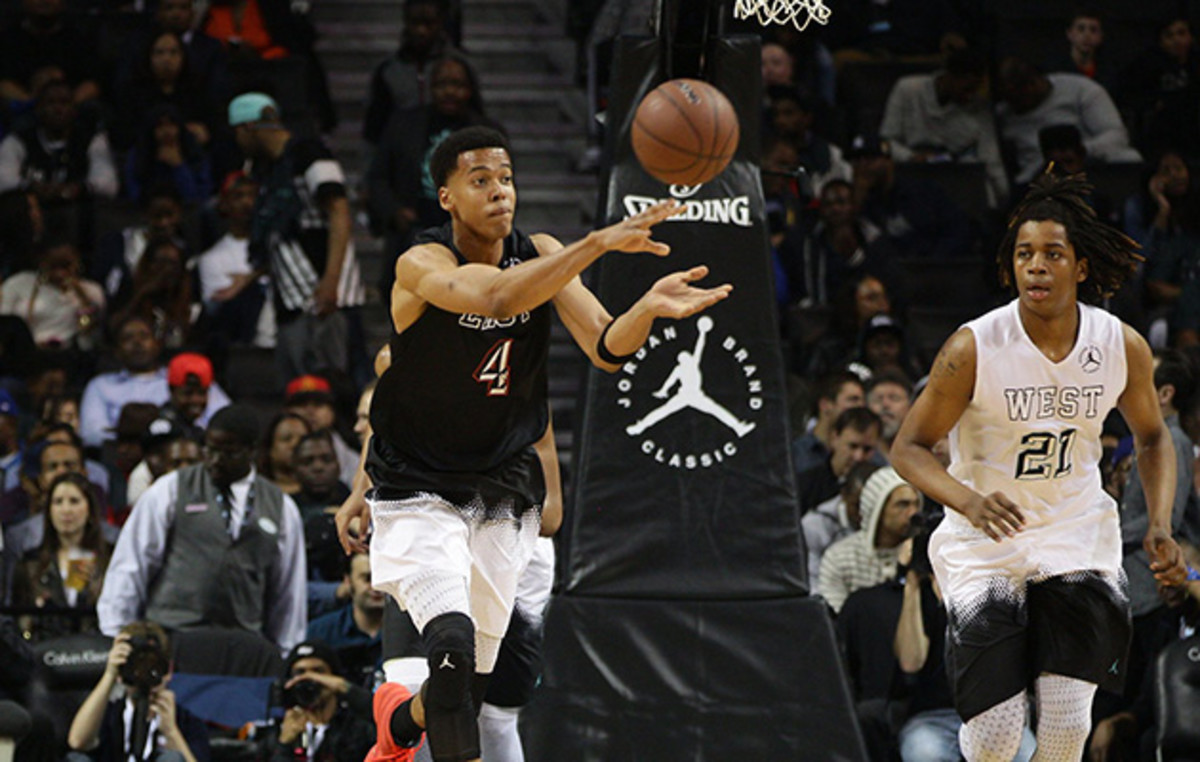 With 11 points and 12 rebounds in just 19 minutes, Labissere starred at the Jordan Brand Classic.