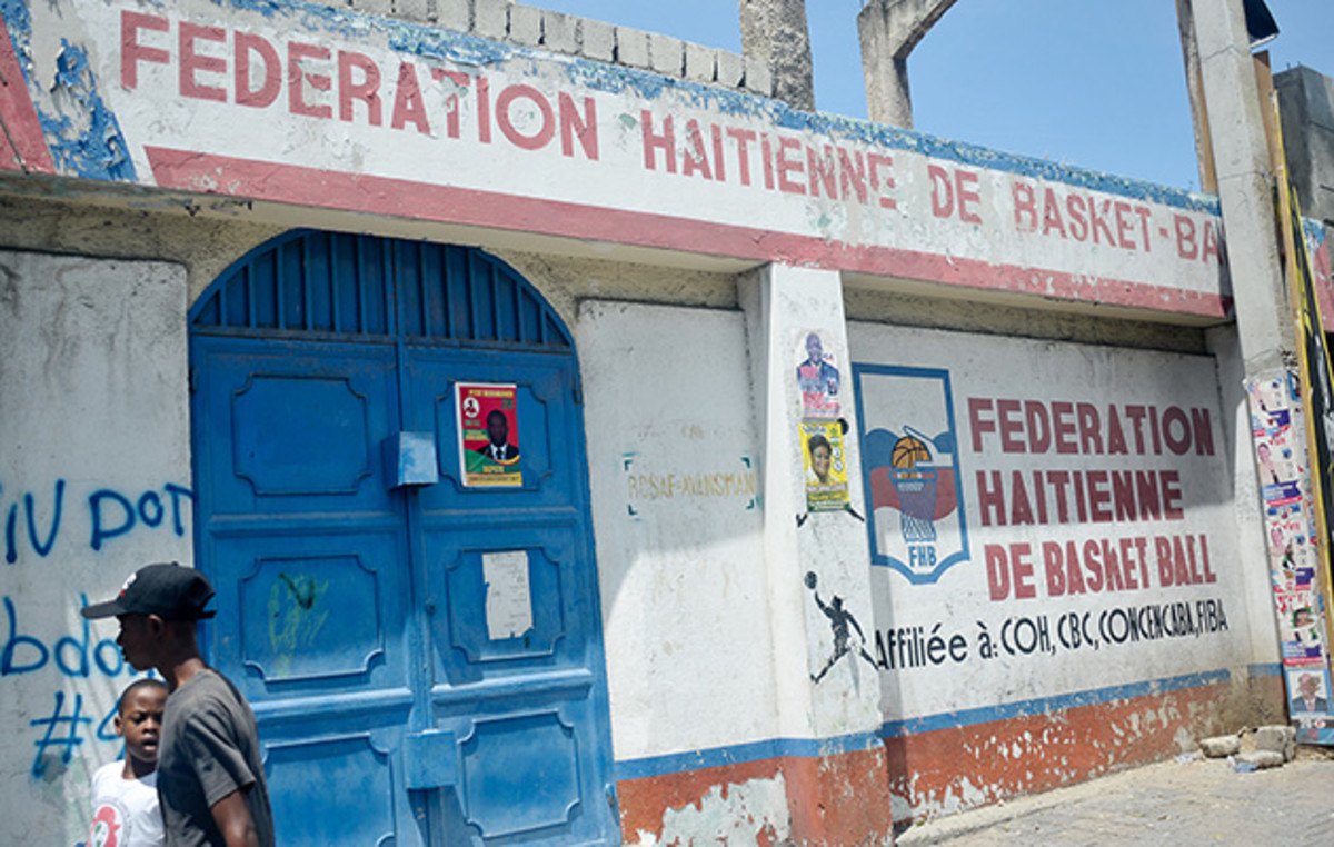 Hitting a Wall: Labissiere had a comfortable life in Port-au-Prince, but his hoops options were limited.