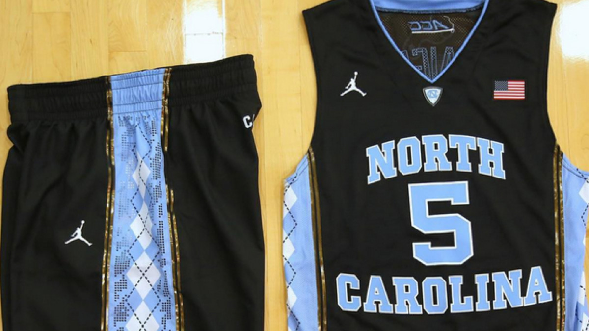 North Carolina basketball: Tar Heels wearing black uniforms vs ...