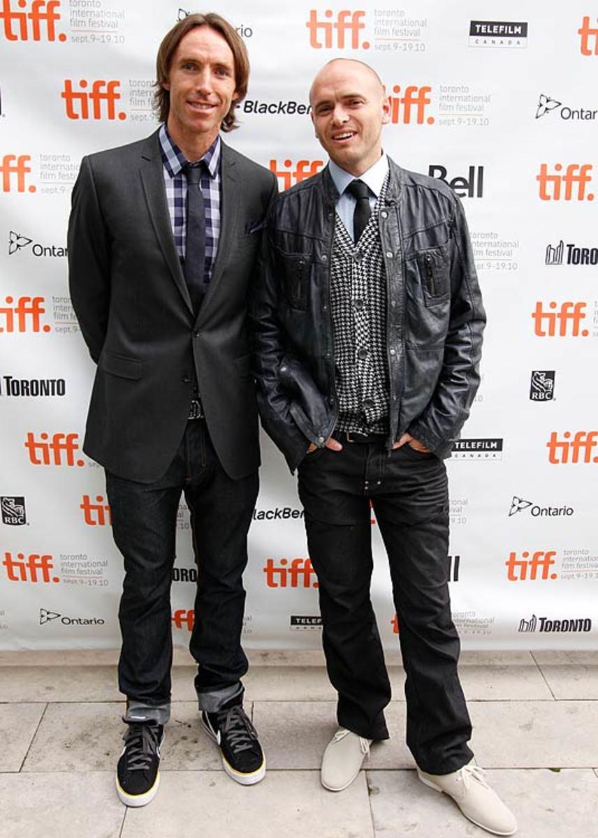Steve Nash and Ezra Holland