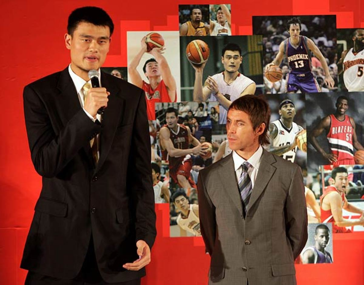 Yao Ming and Steve Nash