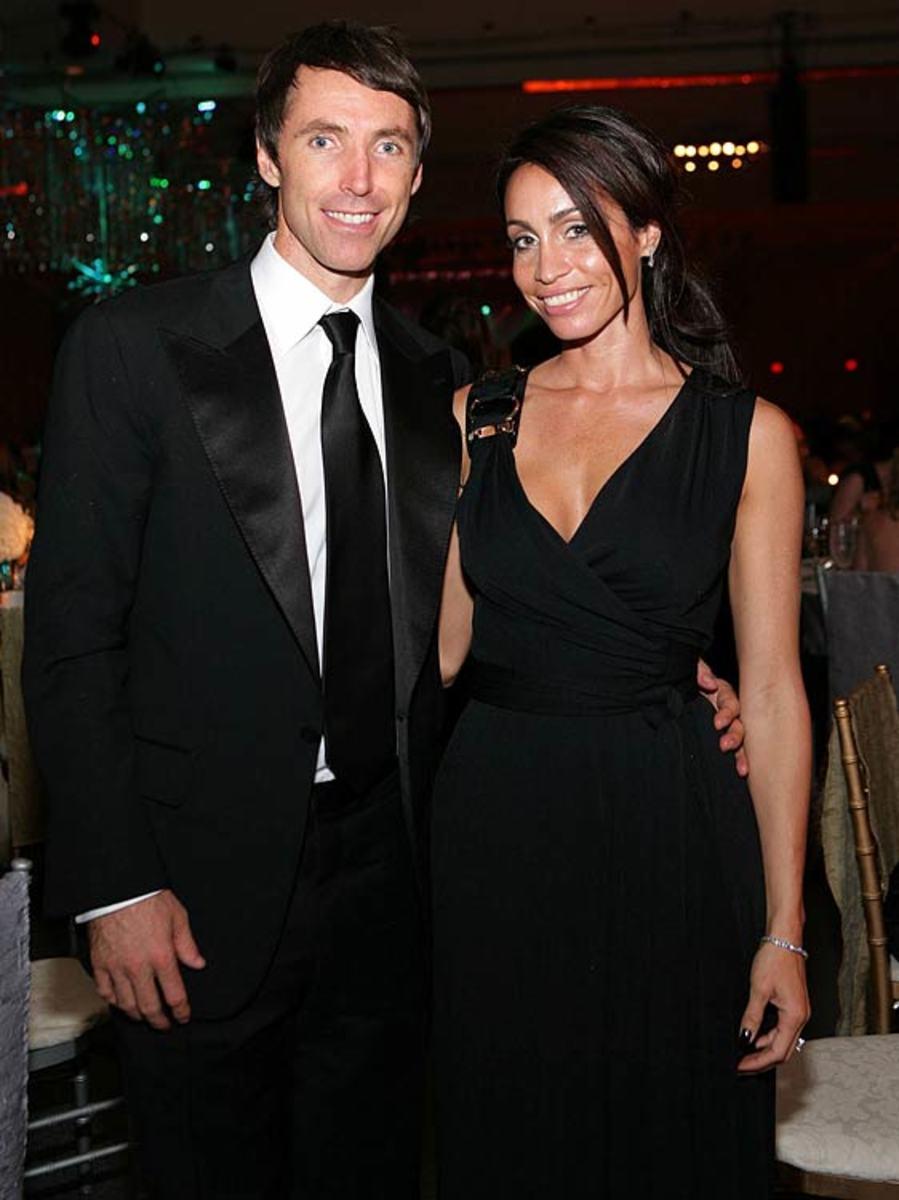 Steve Nash and Alejandra Amarilla