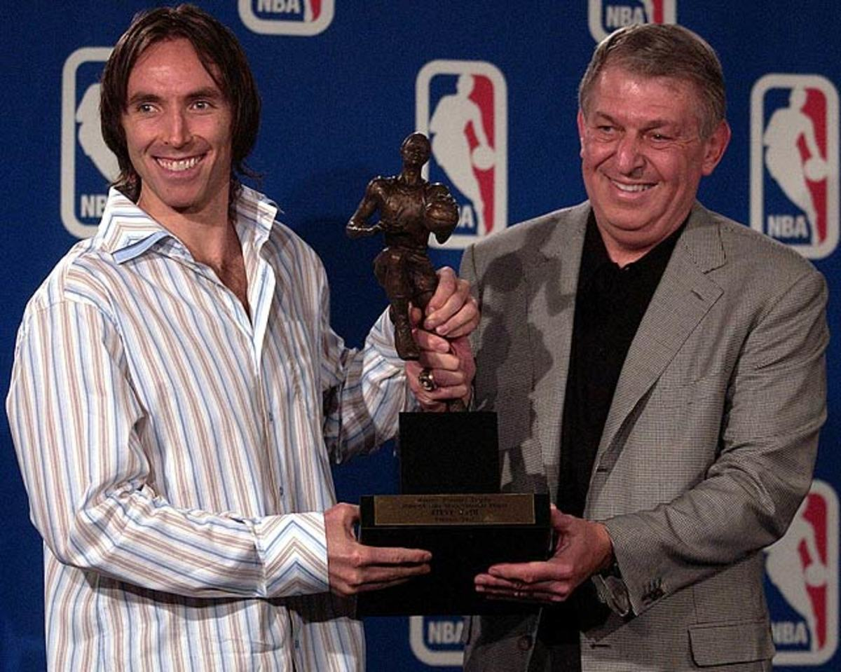 Steve Nash and Jerry Colangelo