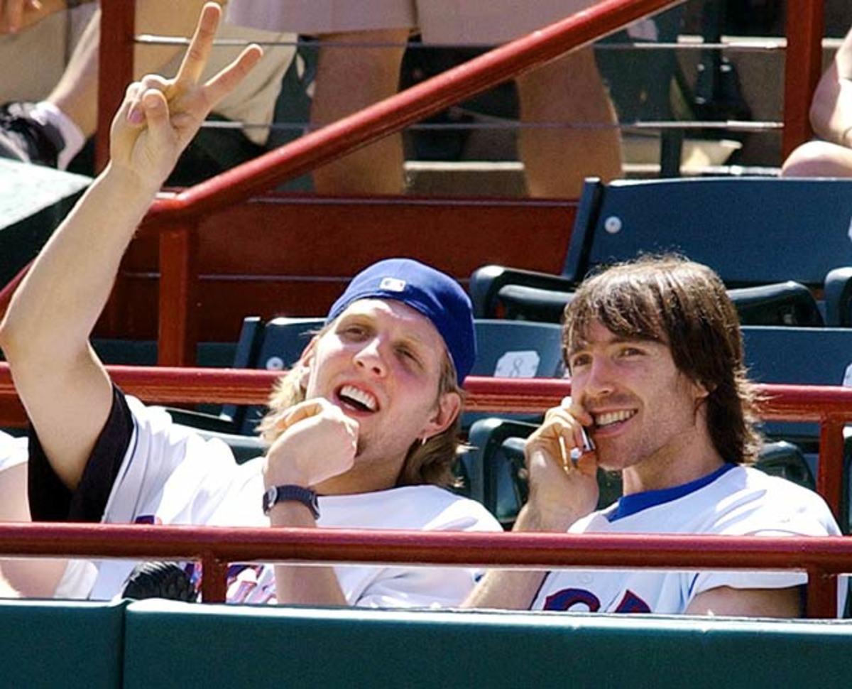 Steve Nash and Dirk Nowitzki