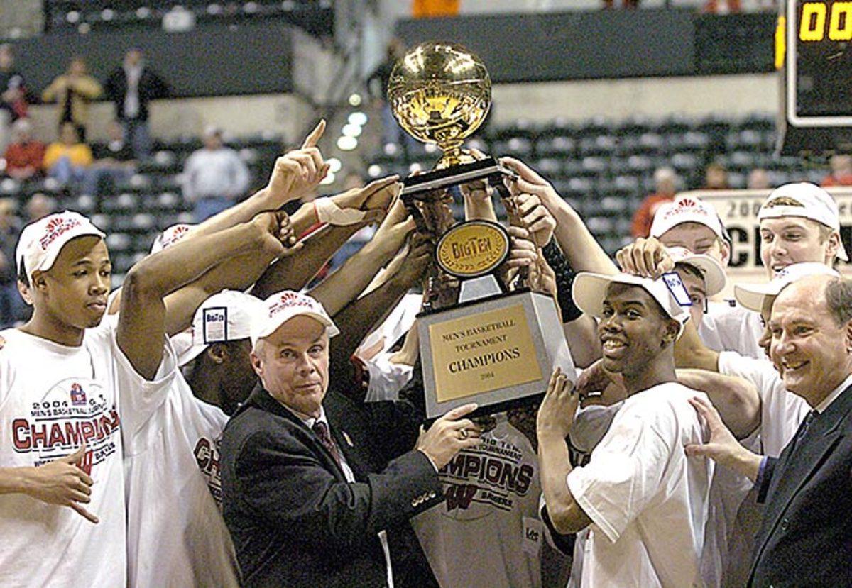 Bo Ryan and 2004 Big Ten title-winning Wisconsin