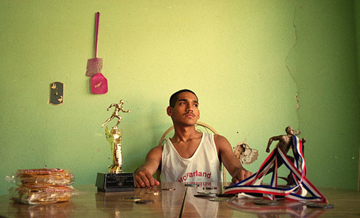 Running gave Javi a reason to believe in himself.