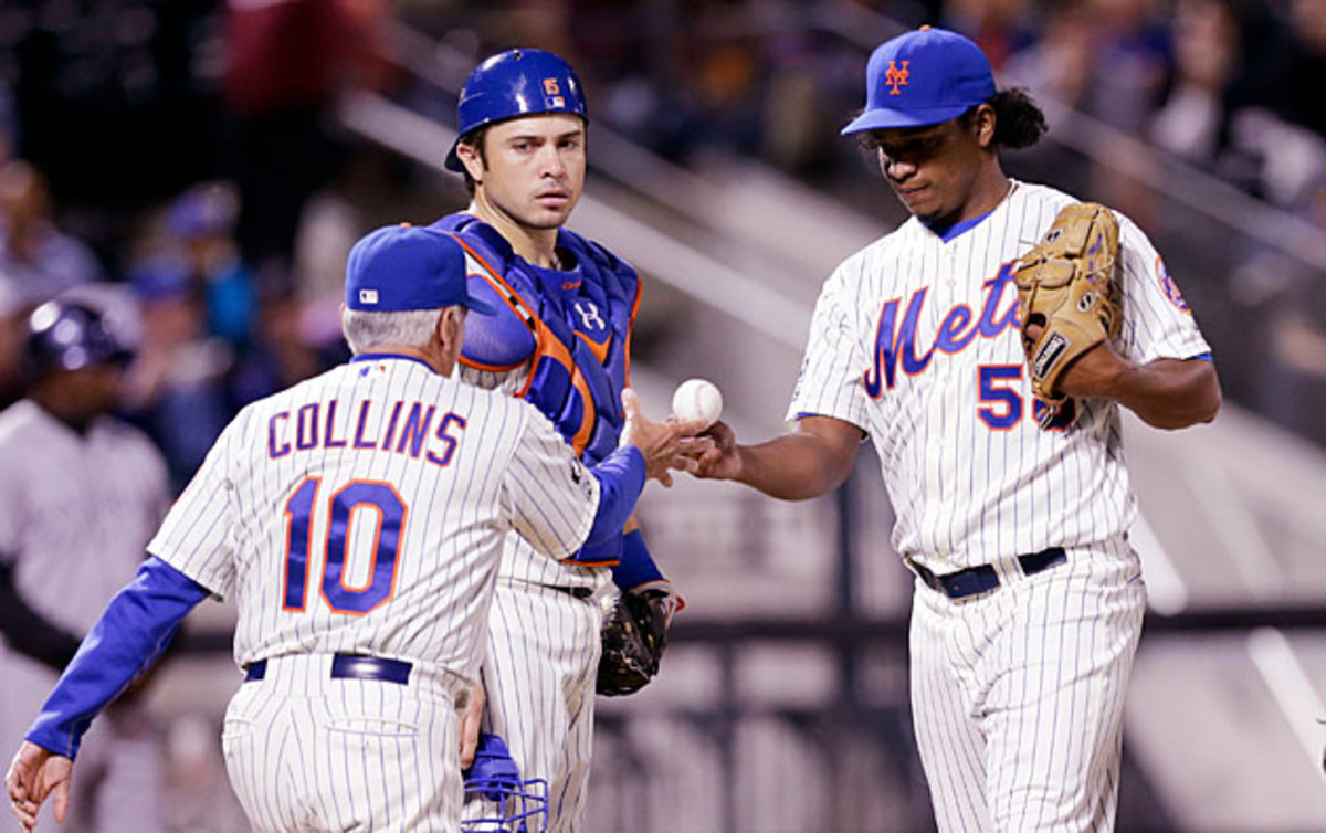 Terry Collins and Mets pitching change top