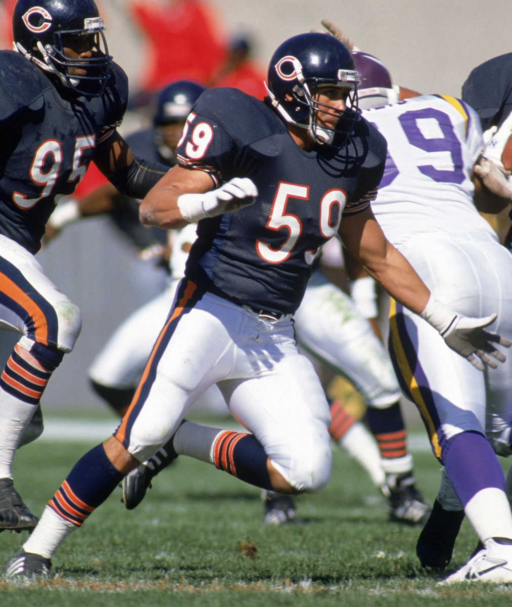 Rivera won a Super Bowl ring under Ditka as a backup linebacker on the legendary '85 Bears team. He would later become a starter.
