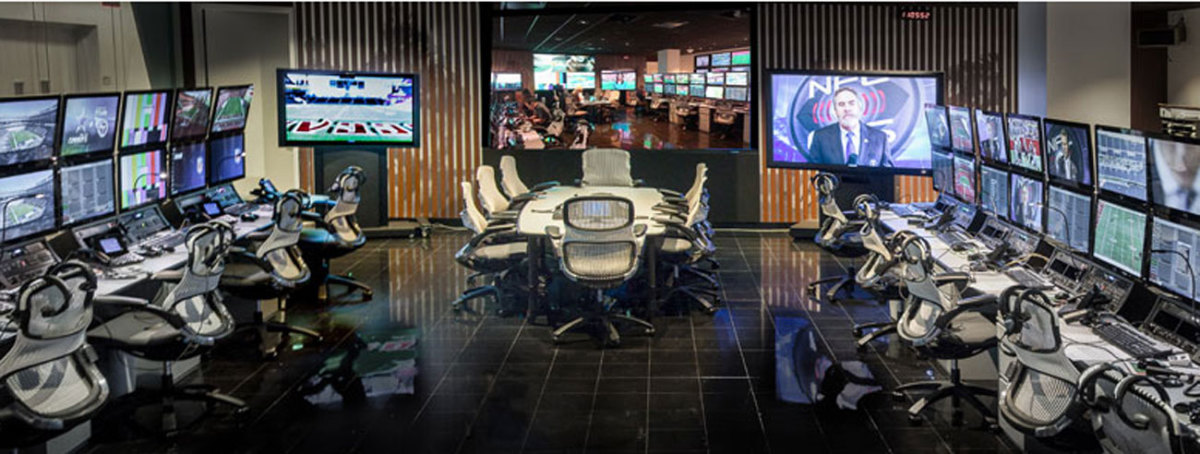 The NFL replay command center in New York will be more involved than ever in the playoffs this season.