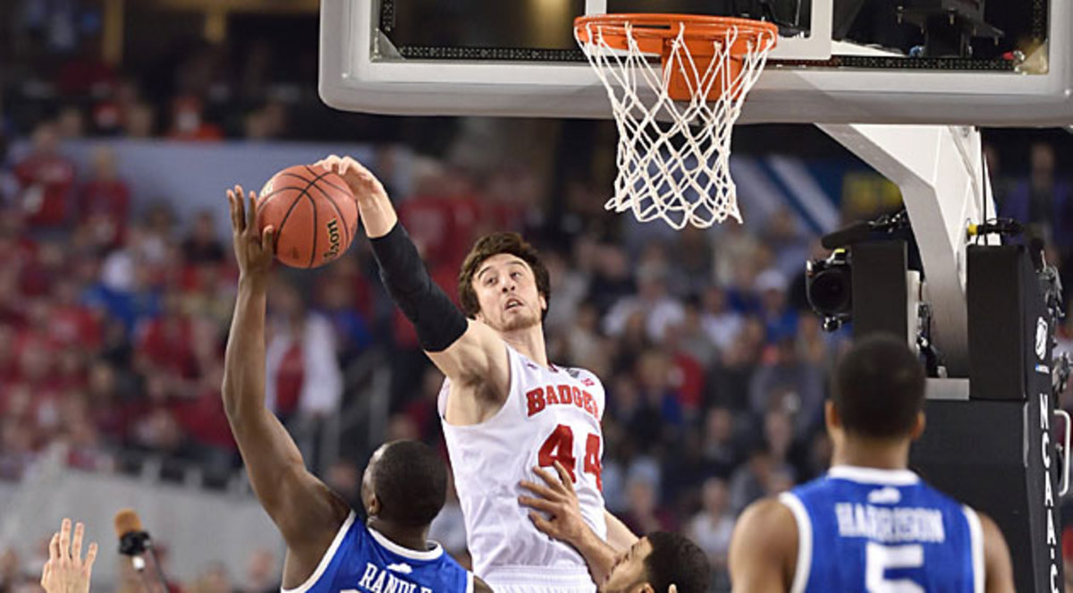 Frank Kaminsky Wisconsin Kentucky Hoop Thoughts