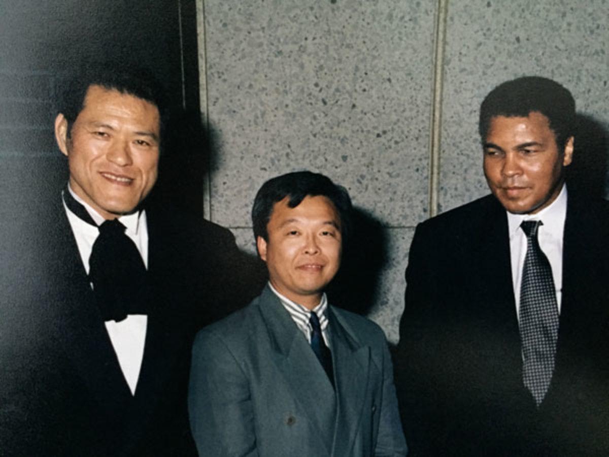 Antonio Inoki, Sonny Onoo and Muhammad Ali