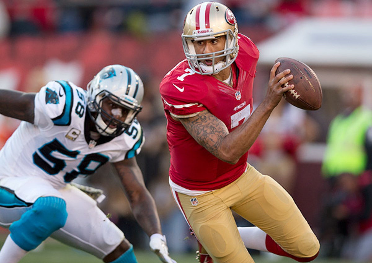 Colin Kaepernick now has the highest financial guarantee in NFL history.