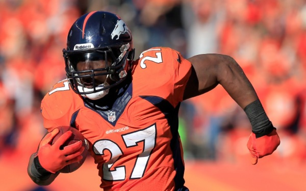 Denver Broncos running back Knowshon Moreno will be a free-agent after this season. (Jamie Squire/Getty Images)