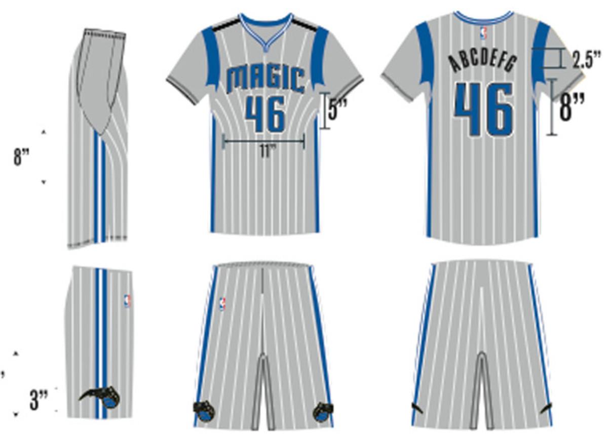 Magic jerseys