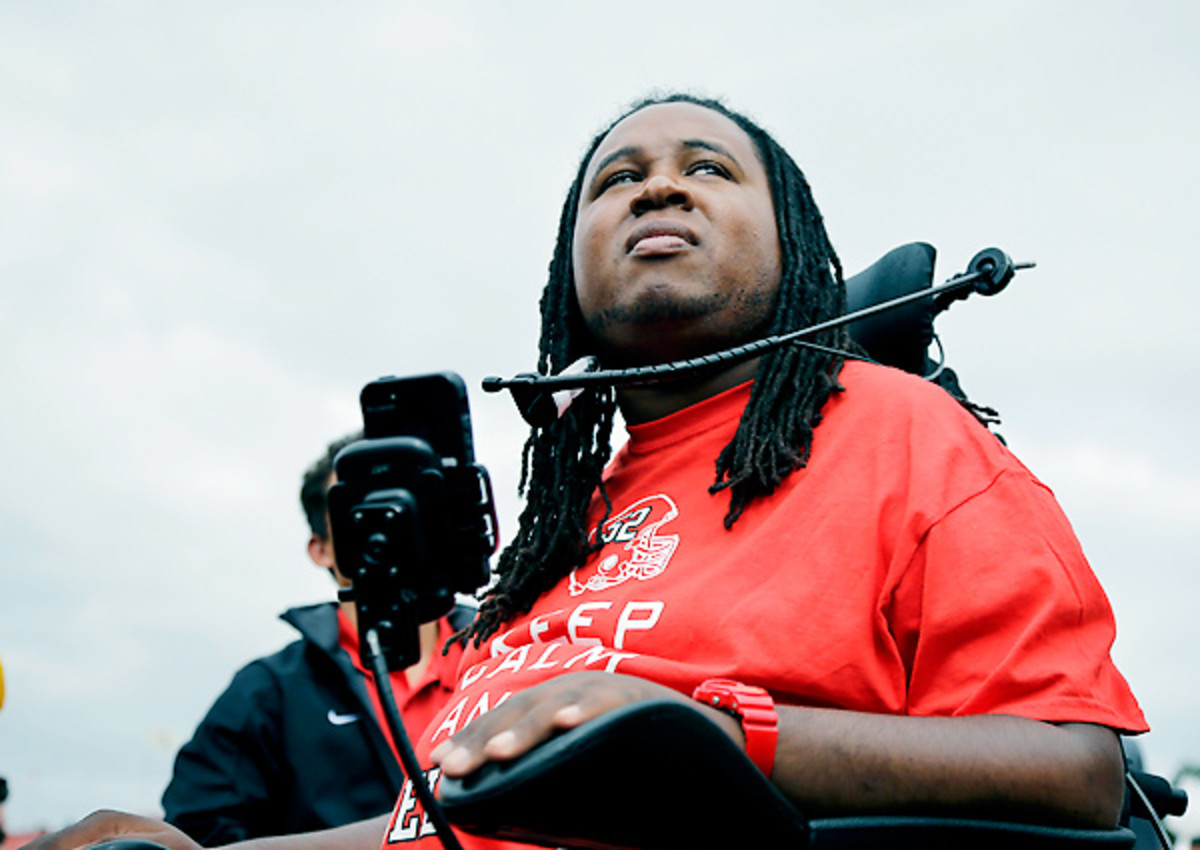 Add completing his Rutgers degree to the ways Eric LeGrand has inspired.