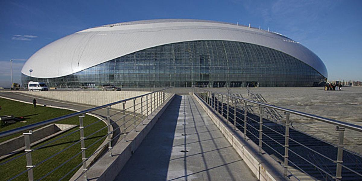 Bolshoi Ice Dome Olympic ice hockey arena in Sochi