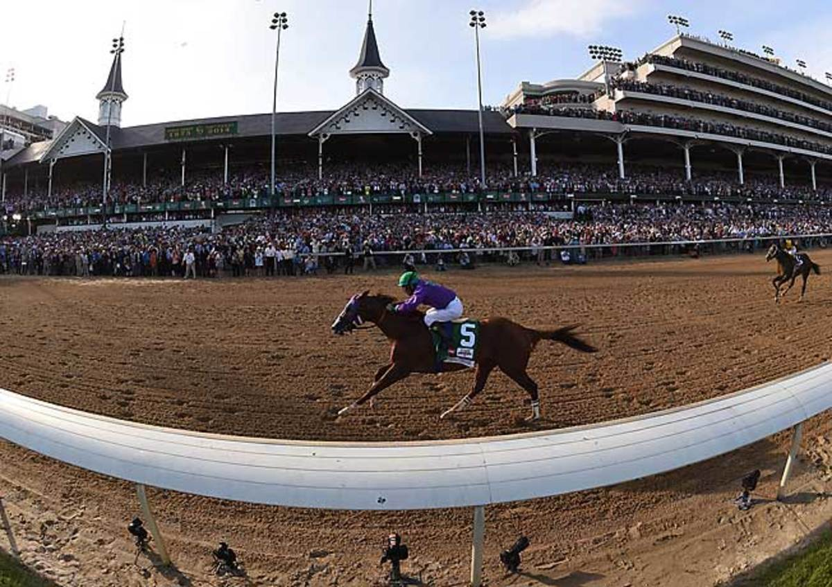 California Chrome's victory in the Kentucky Derby was his fifth straight with jockey Victor Espinoza.