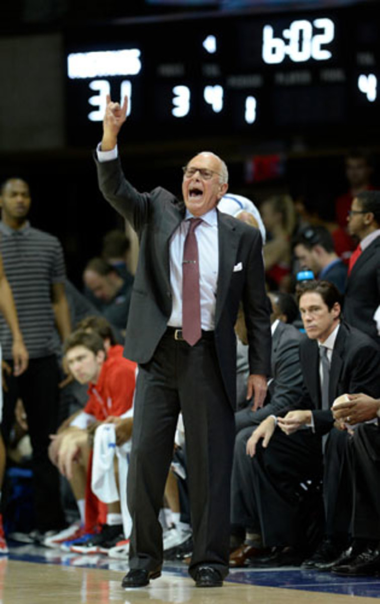 Larry Brown hopes to take the Mustangs back to the NCAA tournament for only the second time in the last 26 years.
