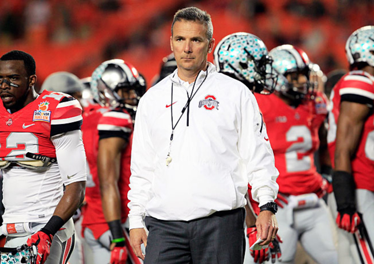 Despite going 24-2 in two years at Ohio State, Urban Meyer is looking to revamp the Buckeyes' culture.