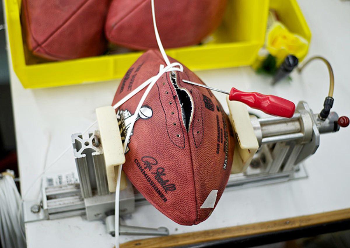 Super Bowl XLVIII footballs