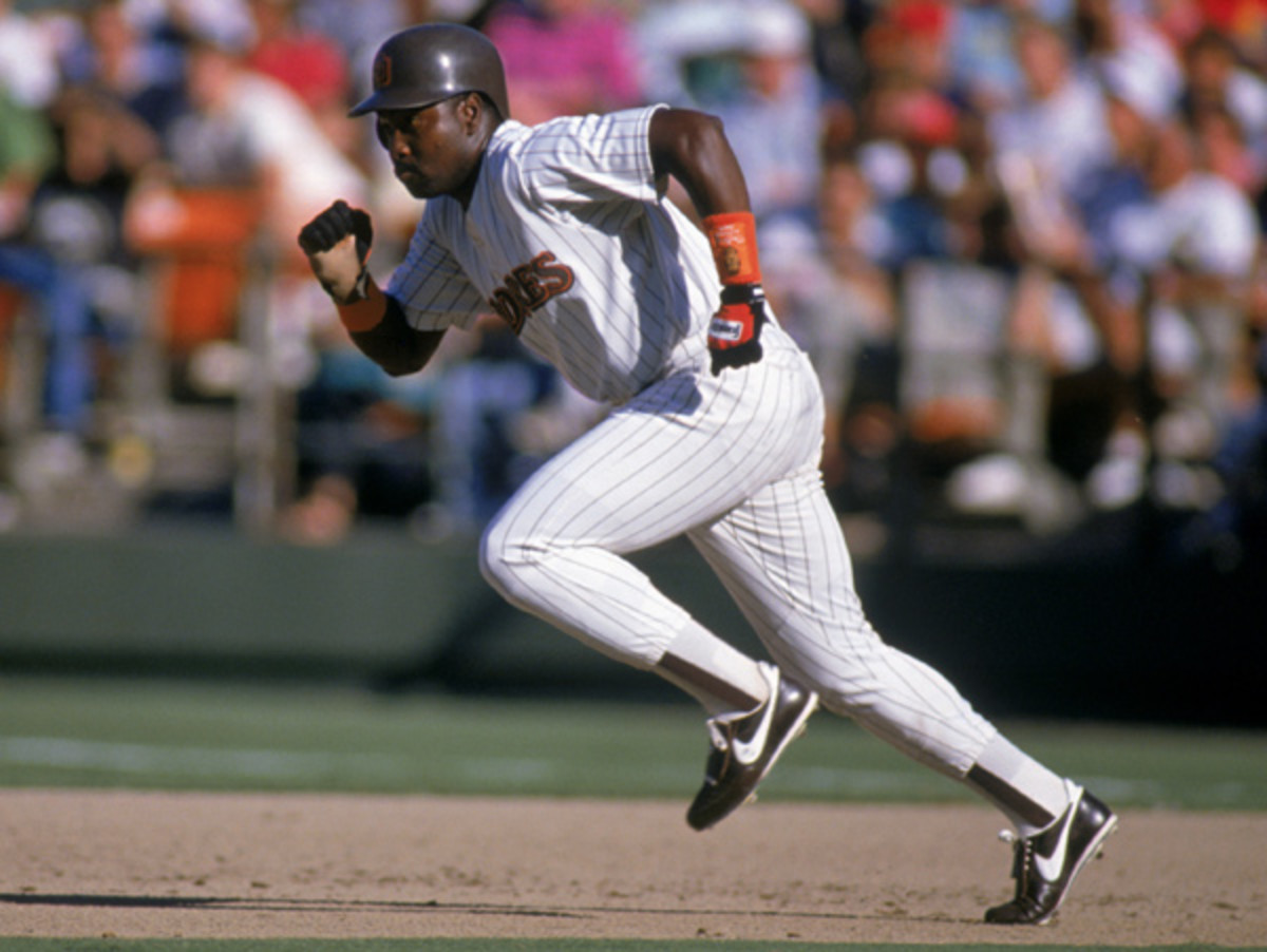 Tony Gwynn hit .300 or better in 19 of his 20 seasons in baseball. (Stephen Dunn/Getty Images)