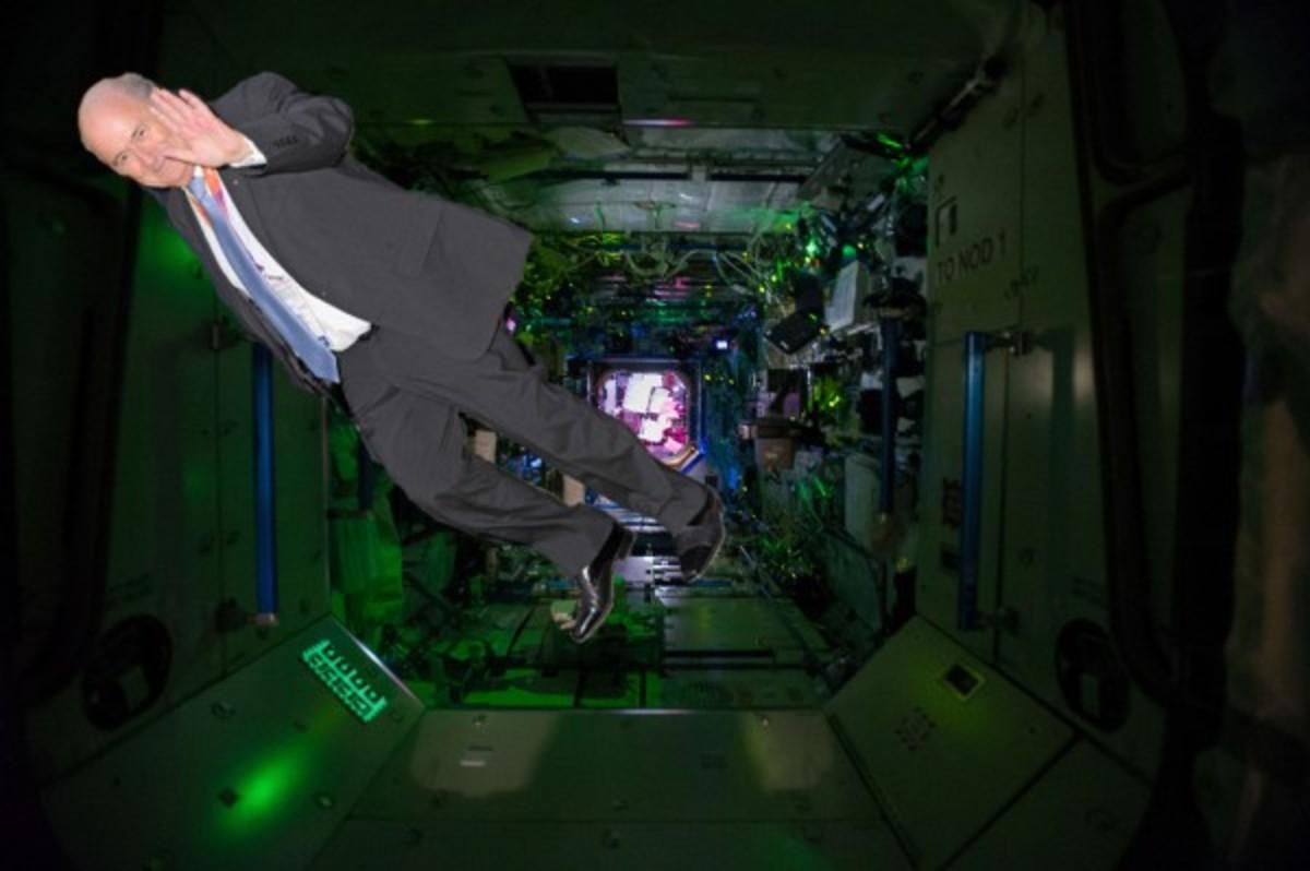 Blatter in space