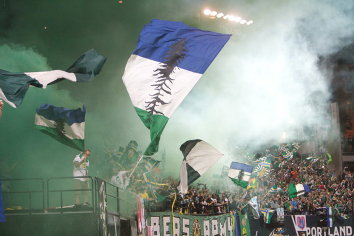 Portland Timbers fans; Timbers Army