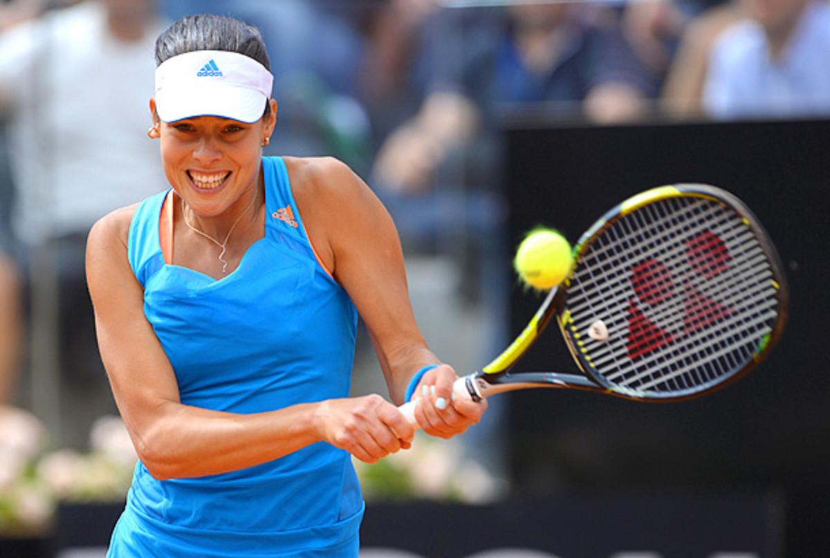 Ana Ivanovic hadn't beaten Maria Sharapova since 2007. (Michael Regan/Getty images)
