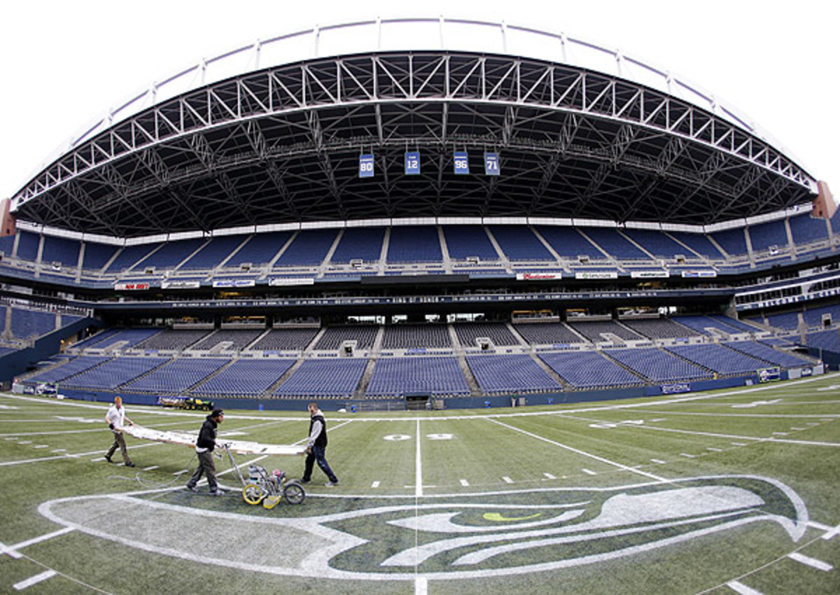 CenturyLink Field owns the Guinness world record for loudest outdoor stadium.