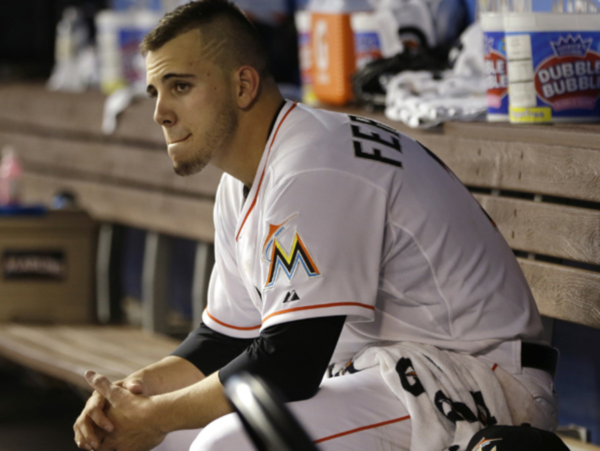 Jose Fernandez will miss the rest of the 2014 season and part of 2015 after Tommy John surgery. (AP)