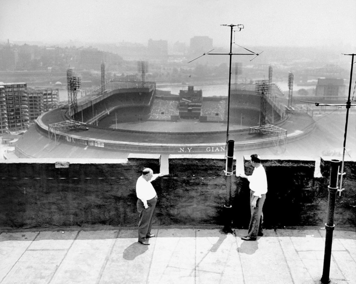 Rooftop opposite the Polo Grounds, at 515 Edgecombe Ave., wh
