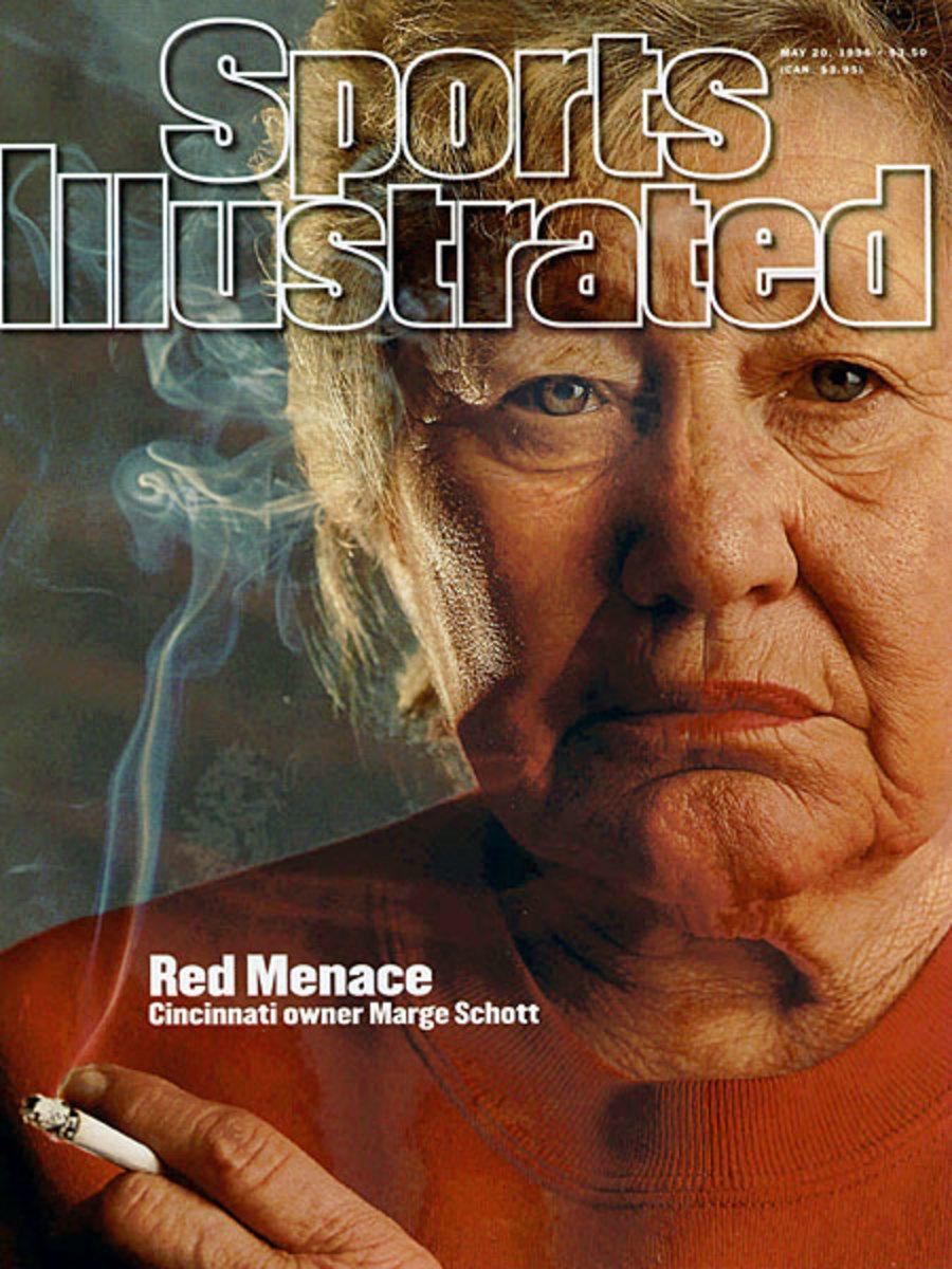 Marge Schott, Cincinnati Reds