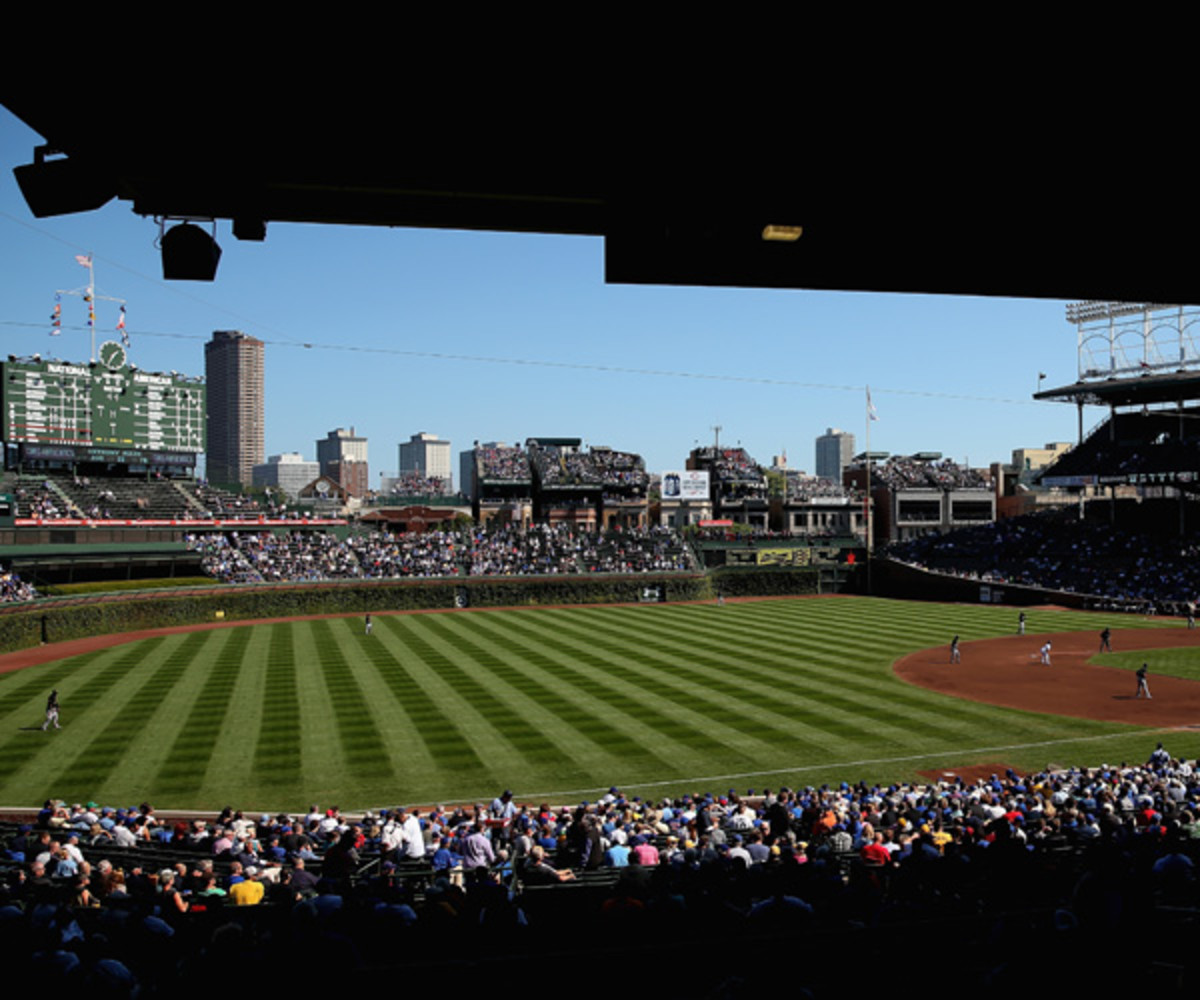 Wrigley Field in September 2013 (Photo by Jonathan Daniel/Getty Images).