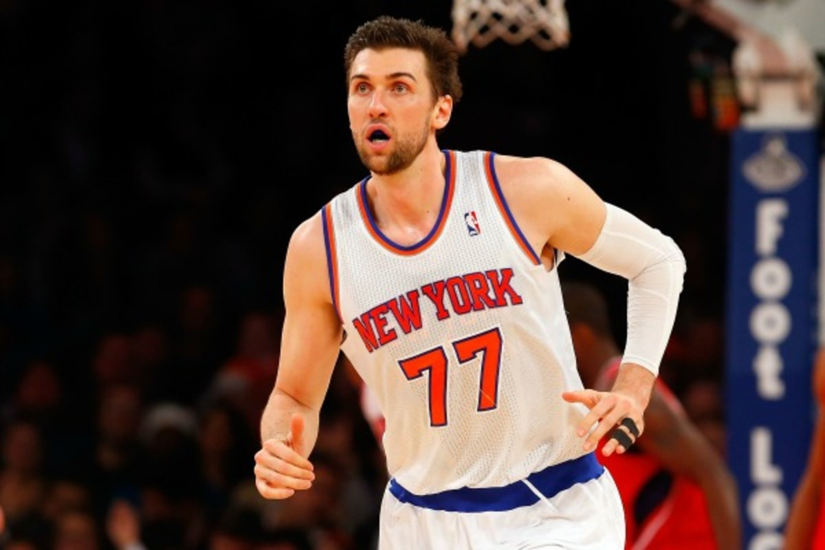 The Knicks are 4-0 without an injured Andrea Bargnani. (Jim McIsaac/Getty Images)