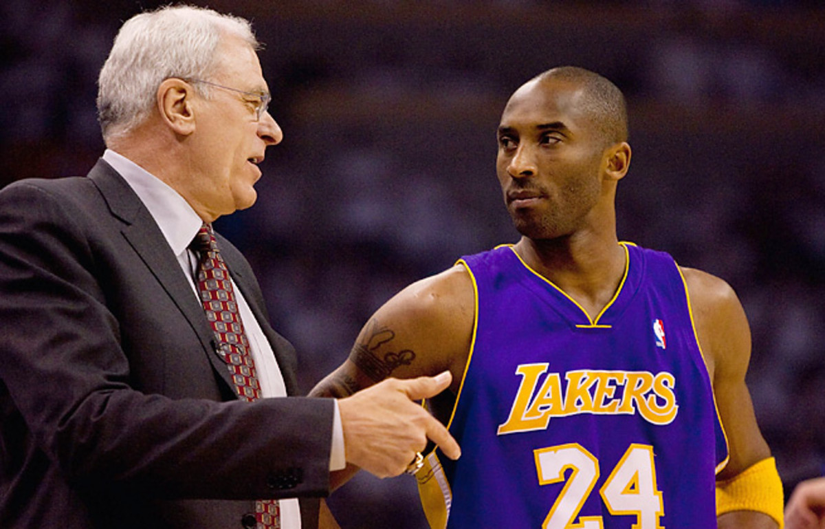 Kobe Bryant has expressed his frustration with the Lakers for not bringing Phil Jackson back.