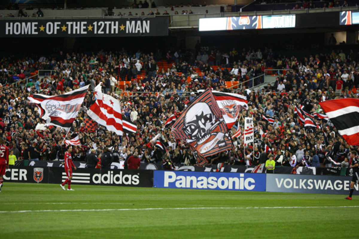 D.C. United's supporters have remained loyal despite numerous promises that the club would have its own home and depart the crumbling RFK Stadium.