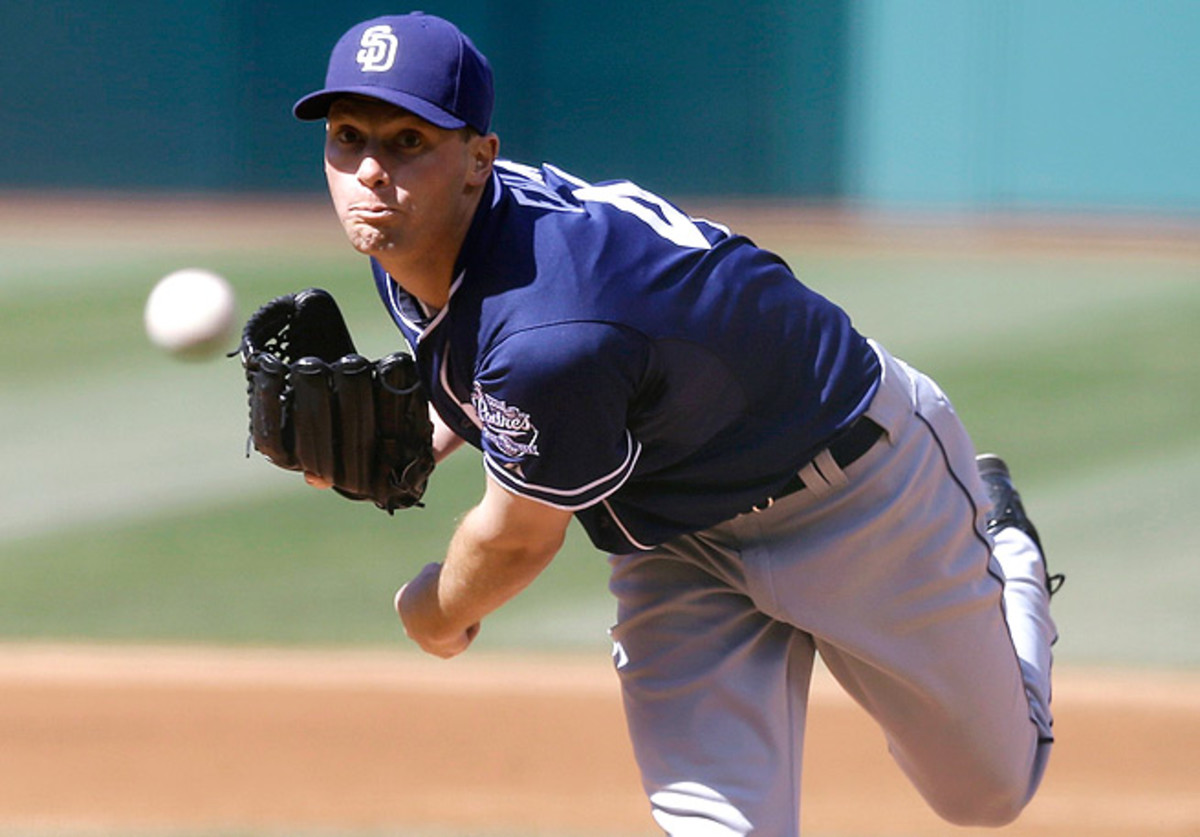 Robbie Erlin racked up 13 strikeouts over his last two starts, and has walked only one batter all year.