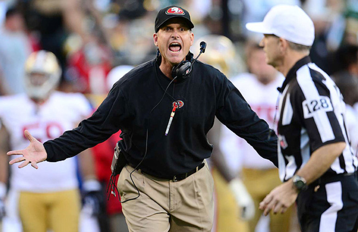 Jim Harbaugh is entering the second-to-last year of his five-year deal with the 49ers.