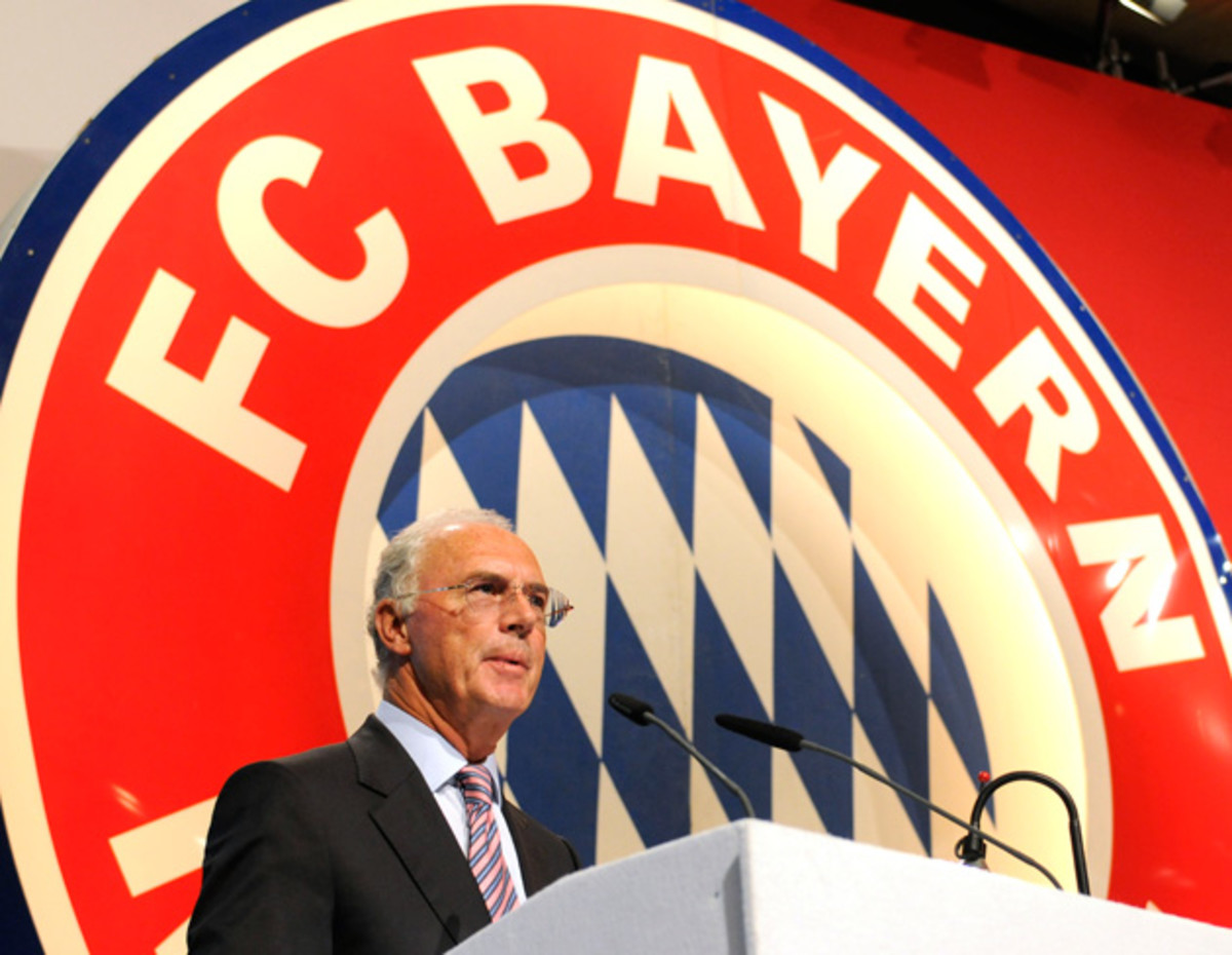 Franz Beckenbauer is forever a symbol of Bayern's rise to excellence and remains a club ambassador.