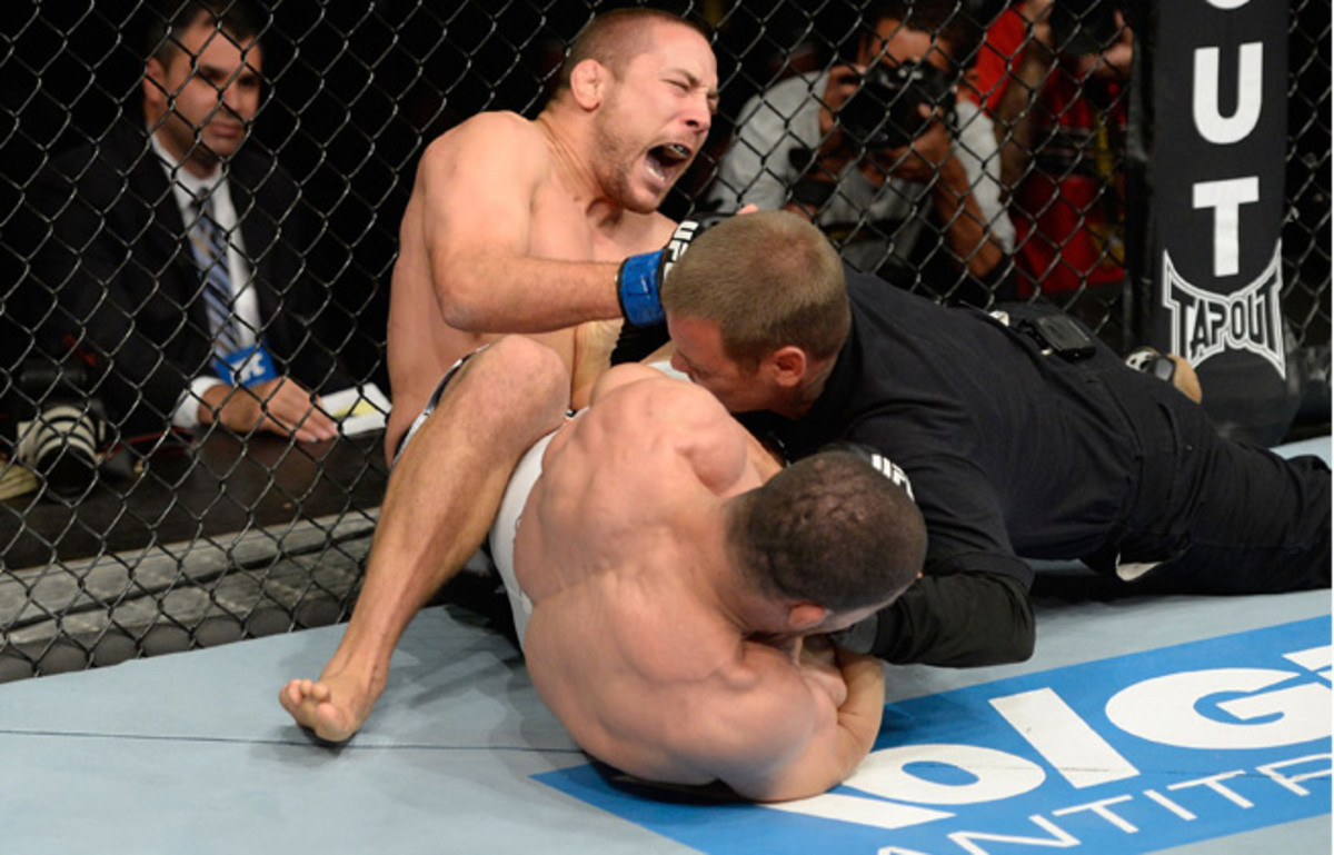 Rousimar Palhares was released from his UFC contract after ignoring a tapout last year.